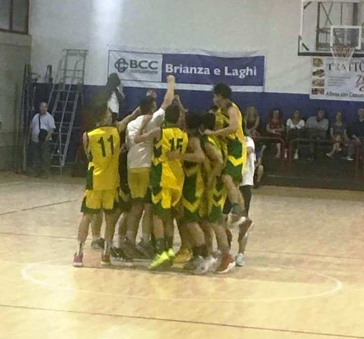 Tavernerio: l'Under 18 vola in finale!